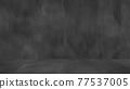 Old black background. Grunge texture. Dark wallpaper. Blackboard. Chalkboard. Concrete. 77537005