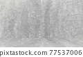 Grungy white background of natural cement or stone old texture as a retro pattern wall. Conceptual wall banner, grunge, material,or construction. 77537006