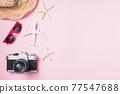 camera films, airplane, hat, sunglasses, starfish beach traveler accessories 77547688