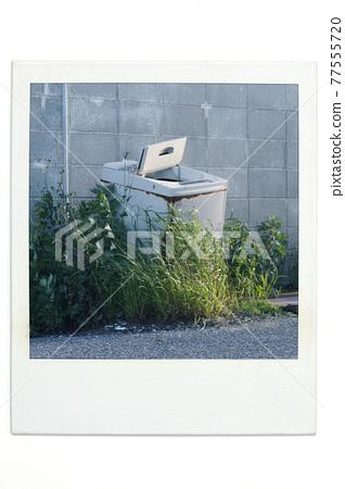 washing machine, washing-machine, broken 77555720