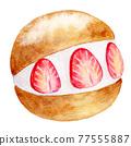 watercolour, watercolors, baked sweet 77555887