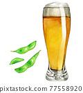 啤酒 淡啤酒 毛豆 77558920