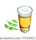 啤酒 淡啤酒 毛豆 77558921