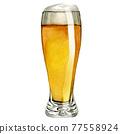 啤酒 淡啤酒 啤酒杯 77558924