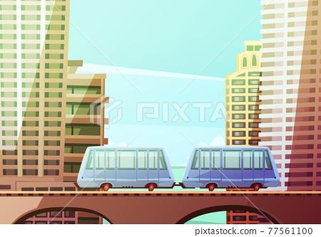Miami Suspended Monorail 77561100