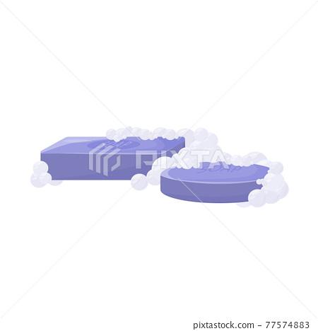 Antibacterial soap cartoon vector illustration 77574883