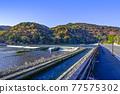 togetsu bridge, Arashiyama, spring 77575302