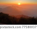 Setting sun 77580037