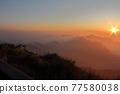 Setting sun 77580038
