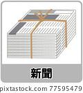 newspaper, wastepaper, trash separation 77595479
