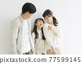 Family parent and child 77599145