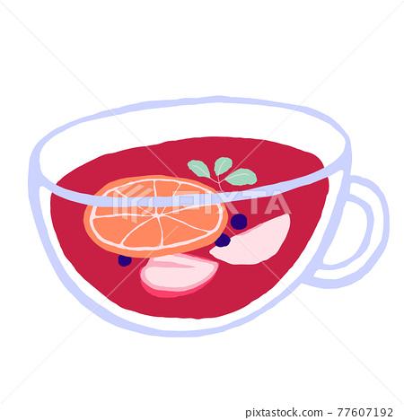 Relieved breath fruit tea 77607192