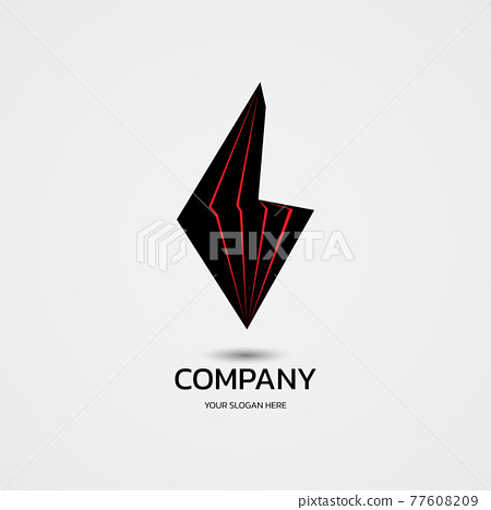 Abstract technology logo company. vector illustration 77608209