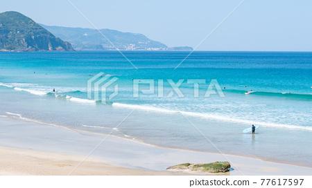 izu, blue water, marine 77617597