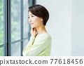 中年婦女 77618456