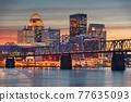 Louisville, Kentucky, USA Skyline  77635093