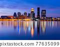 Louisville, Kentucky, USA Skyline on the River 77635099