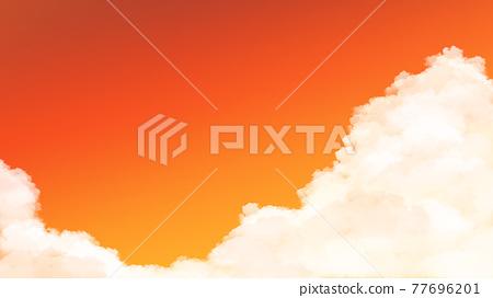하늘, 황혼, 해질녘 77696201