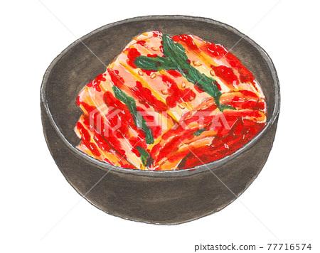 kimchi, kimchee, korean food 77716574