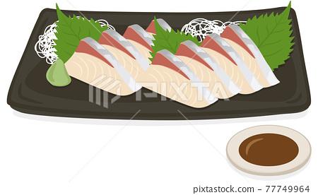 Hamachi 鰤魚刺身 / Hamachi 鰤魚刺身 77749964