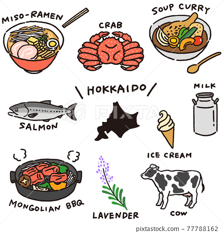 hokkaido, food, foods 77788162