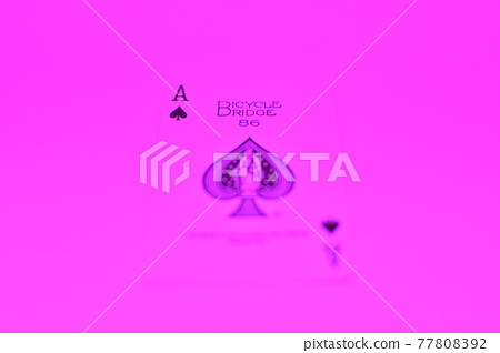 Playing cards (spades) 77808392