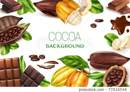 Cocoa Realistic Frame 77816548