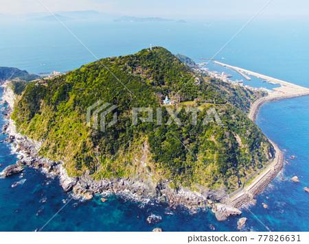 공중 촬영, 바다, 섬 77826631
