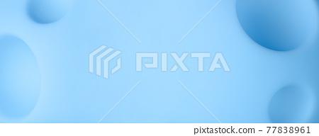cartoon blue planet panoramic 77838961