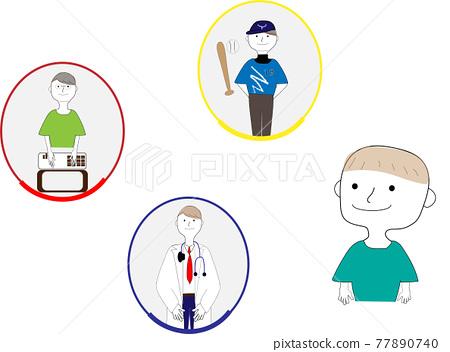 baby boy, boy, doctor 77890740