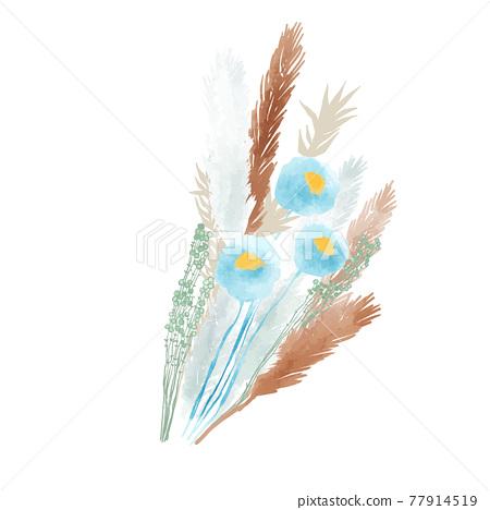 Dried flower 77914519