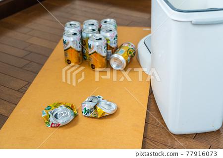 캔 폐기 자원 쓰레기 재활용 동영상 있음합니다 77916073