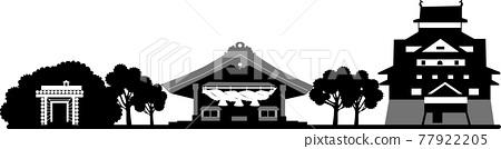 Shimane silhouette (transparent specification) 77922205