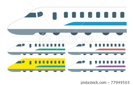 bullet train, shinkansen, vehicle 77949503