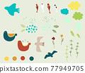 bird, birds, fowls 77949705