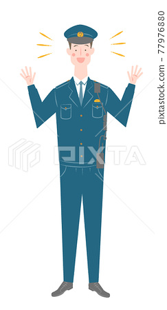 Male police officer 77976880