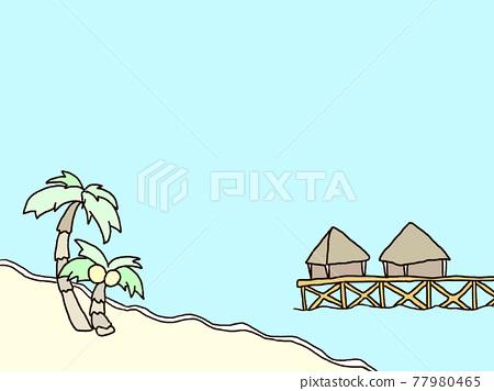 summer, blue water, marine 77980465