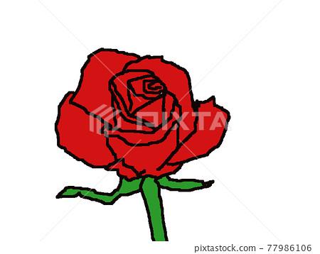 玫瑰 77986106