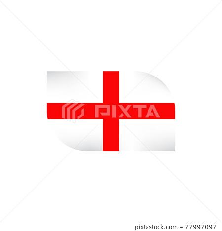 United Kingdom England flag logo design template 77997097