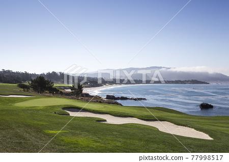 Pebble Beach golf course, Monterey, California, USA 77998517