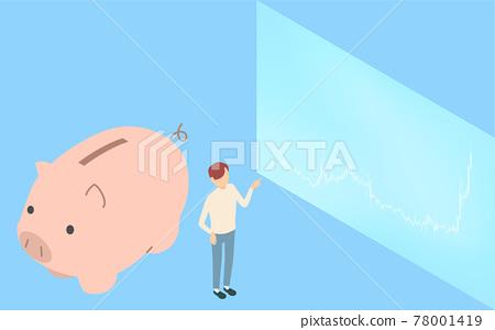 savings, saving, money box 78001419