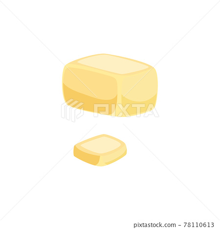 Butter Flat Illustration 78110613