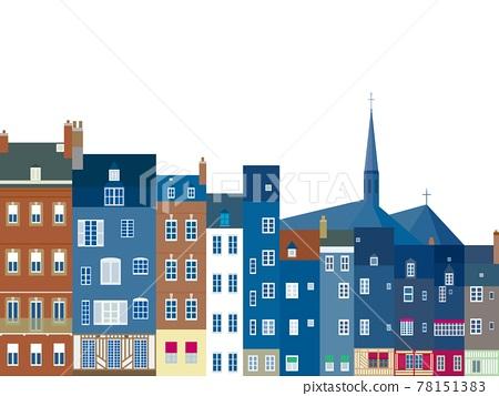 normandy, city, cityscape 78151383