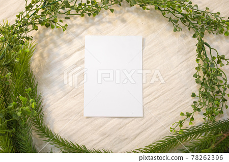 Blank Card Mockup designs in an authentic setting artworks or stationery designs 78262396
