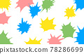 Paint, frame, material, cartoon, effect, background 78286699