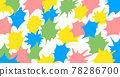 Paint, frame, material, cartoon, effect, background 78286700