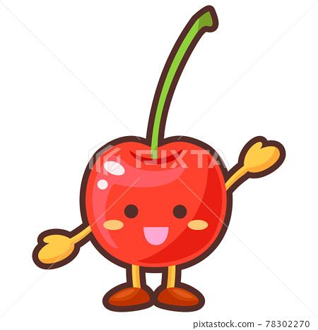 Cherry character 78302270