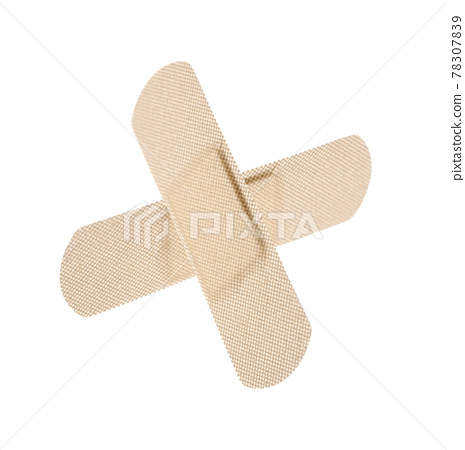 adhesive bandage isolated 78307839