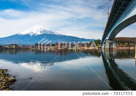 Mt. Fuji in Yamanashi, Japan 78317353