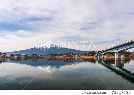 Mt. Fuji in Yamanashi, Japan 78317359